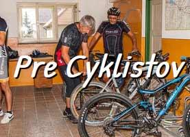 pre cyklistov